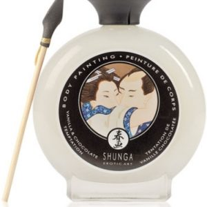 TINTA CORPORAL SHUNGA CHOCOLATE BRANCO 100ML