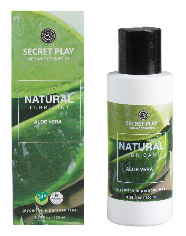 NATURAL LUBRIFICANT ALOE VERA SECRET PLAY