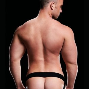 MICROFIBER LOW-RISE JOCK-BLACK