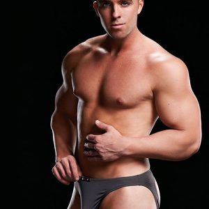 MICROFIBER LOW-RISE BRIEF GREY