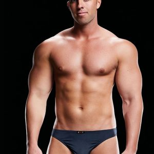 MICROFIBER LOW-RISE BRIEF NAVY