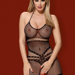 N118 BODYSTOCKING BLACK