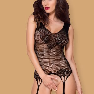 F231 BODYSTOCKING BLACK