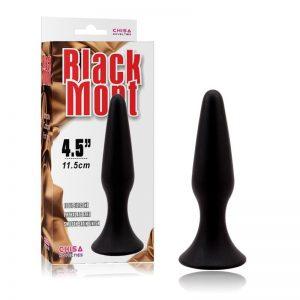 """PLUG ANAL CHISA BLACK MONT PLUG 4,5"""" PRETO"""